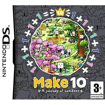 番号任天堂 DS ゲームの 10 の旅をします。