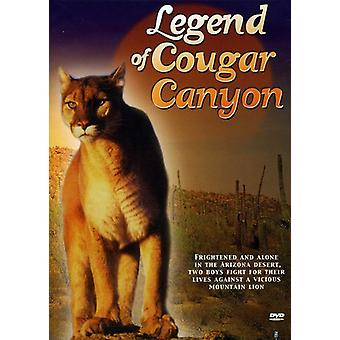 Legend of Cougar Canyon [DVD] USA import