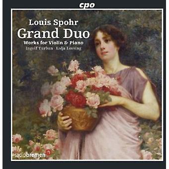 L. Spohr - Louis Spohr: Grand Duo [CD] USA import