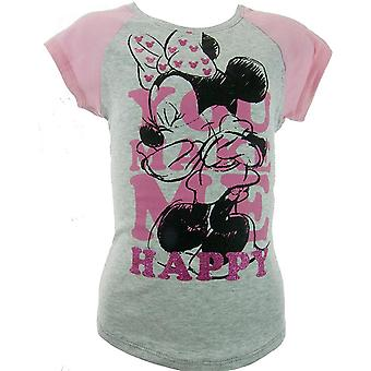 Girls Disney Minnie Mouse | Short Sleeve T-shirt