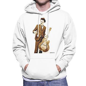 Pete Doherty Gitarre fotografieren Herren Sweatshirt mit Kapuze