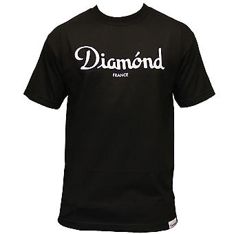 Diamant Supply Co Champagne T-shirt noir
