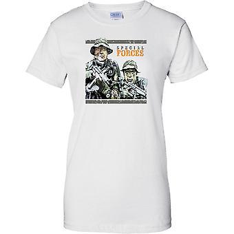 Tropas de las fuerzas especiales camuflaje - señoras T Shirt