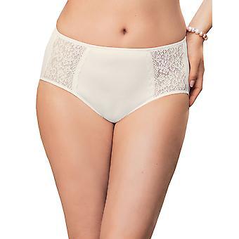 Anita 1512-612 Frauen Komfort Havanna Kristall weiße volle Panty Highwaist kurz