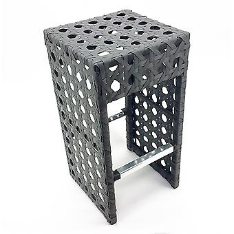 Avon Woven Wicker Outdoor Chair/Bar Stool - Ash Gray