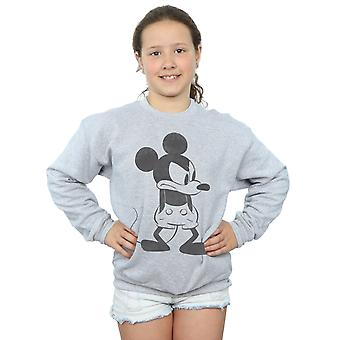 Disney Girls Mickey Mouse Angry Sweatshirt