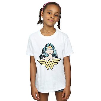 DC Comics Girls Wonder Woman Blick T-Shirt