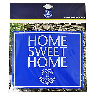 Everton FC Official Home Sweet Home Sign
