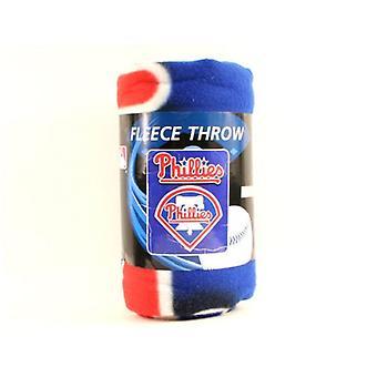 Philadelphia Phillies MLB Northwest Lightning Fleece Throw