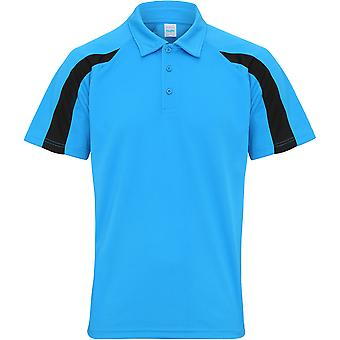 Awdis Cool Mens Contrast Cool Polo Shirt