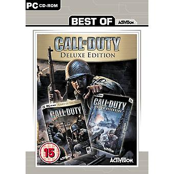 Best of Range Call of Duty - Deluxe Edition (PC CD) - Neu