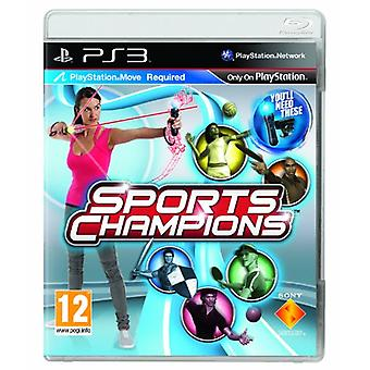 Sports Champions - Move Required (PS3) - Neu