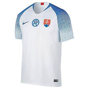 2018-2019 Slovakia Home Nike Football Shirt