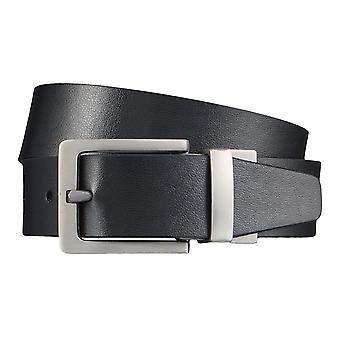 Levi BB´s belts men's belts leather jeans belt WendeGürtel brown/black 4298