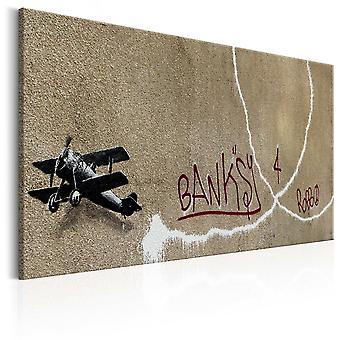 Canvas Print - Love Plane by Banksy