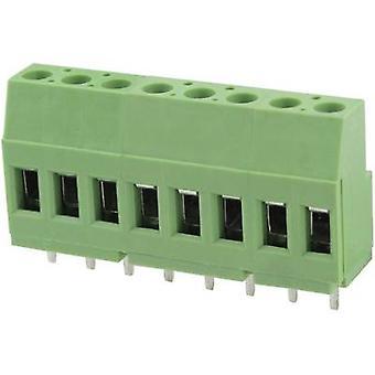 Degson DG129-5.0-02P-14-00AH-1 Schroefklem 3,31 mm² Aantal pinnen 2 Groen 1 st(en)