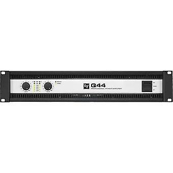 Electro Voice Q44-II PA forstærker RMS strøm pr. kanal (ved 4 Ohm): 450 W