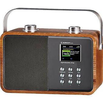 Albrecht DR 850 Portable radio DAB +, FM AUX, Bluetooth hout, zilver