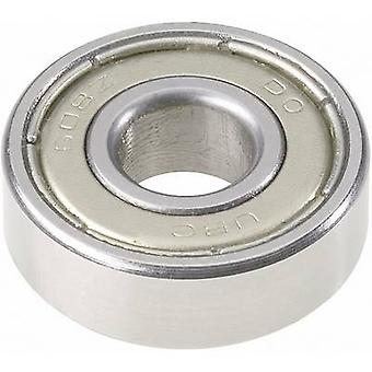 UBC Bearing 609 2RS Deep groove ball bearing Bore diameter 9 mm Outside diameter 24 mm Rotational speed (max.) 20000 rpm