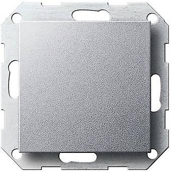 GIRA Cover Toggle switch, Circuit breaker, Cross-switch System 55, Standard 55, E2, Event, Event Tranparent, Event Opaque, Esprit, ClassiX Aluminium 0296 26