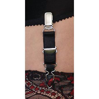 Berdita 4 Pack der verstellbare Hosenträger / Clips für Strümpfe Strumpfband