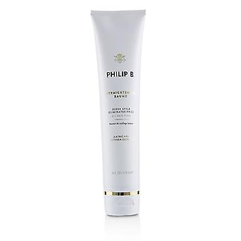 Philip B Straightening Baume (sleek Style Eliminates Frizz - All Hair Types) - 178ml/6oz
