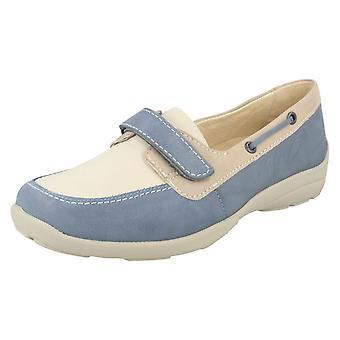 Damer lätt B platt Loafer stil skor Elizabeth