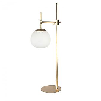 Maytoni Lighting Erich Modern Table Lamp - Cream Gold