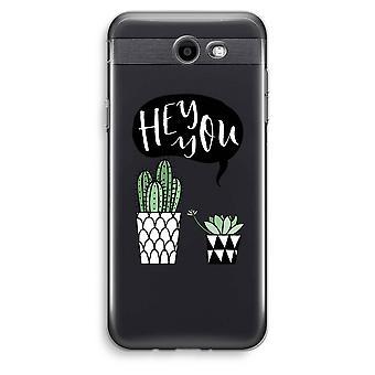 Samsung Galaxy J3 Prime (2017) przezroczysty (Soft) - Hej ty Kaktus