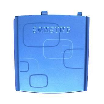 OEM Samsung i617 BlackJack Standard Battery Door - Blue