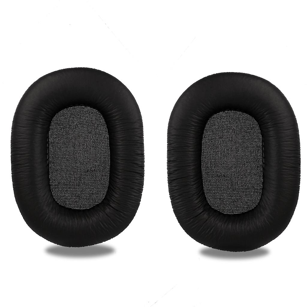 REYTID Replacement Ear Pad Cushion Kit Compatible with Sony MDR-7506 MDR-V6 MDR-CD900ST Headphones - Black