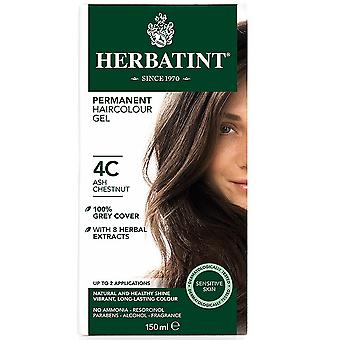 Herbatint, Ash Chestnut Hair Colour 4C, 150ml
