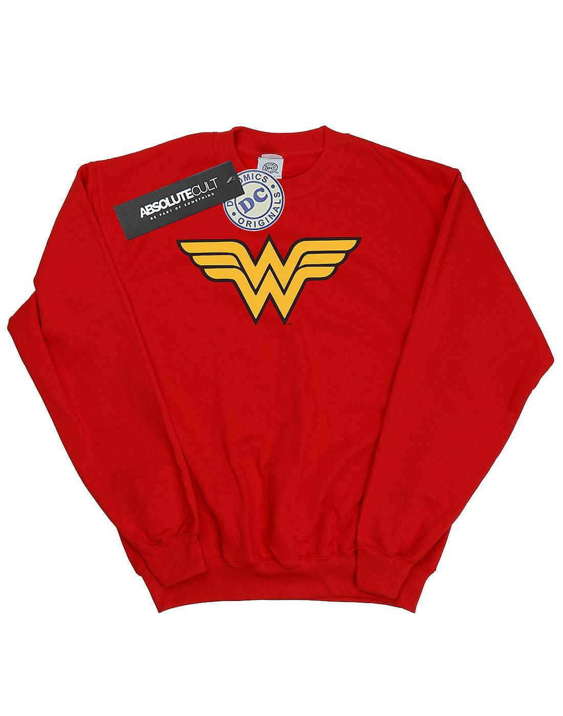 DC Comics Girls Wonder Woman Logo Sweatshirt