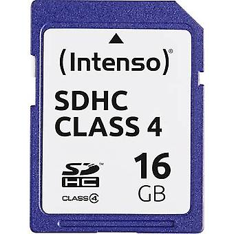 Intenso blå SDHC card 16 GB klasse 4