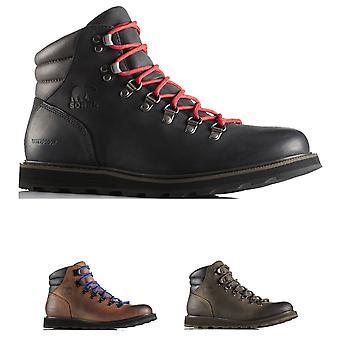 Mens Sorel Madson wandelaar waterdicht wandelen wandelen Leather Ankle Boots