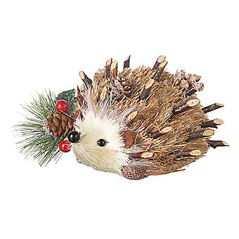 Heaven Sends Christmas Bristle Hedgehog