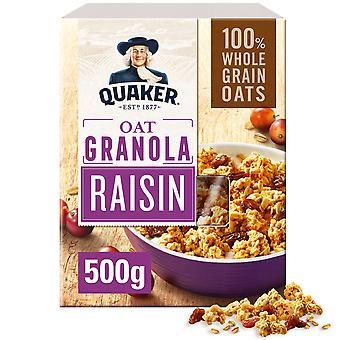 Quaker Oat Raisin Granola