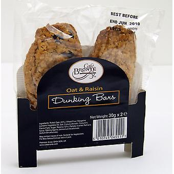 Cafe Bronte Oat & Raisin Biscuits Twin Pack
