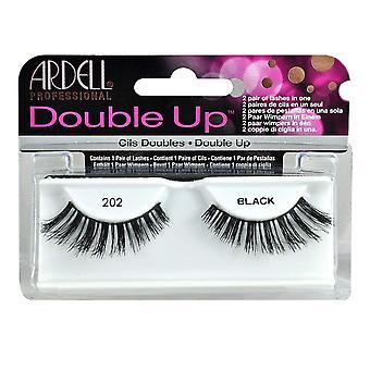 Ardell Double Up False Eyelashes Black 202