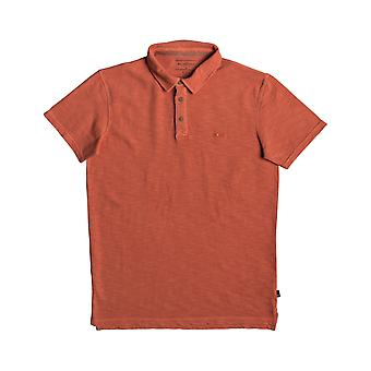 Quiksilver Everyday Sun Cruise Polo Shirt en Orange Rust
