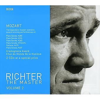 WA Mozart - Richter Master, Vol. 2: Mozart [DVD] USA import
