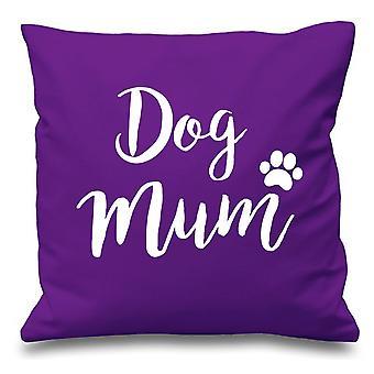 "Dog Mum Aqua Cushion Cover 16"" x 16"""