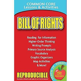 Bill Of Rights gemeinsamen Kern Lektionen & Aktivitäten