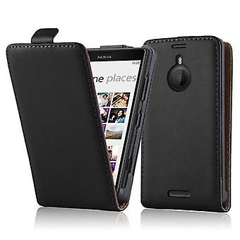 Cadorabo Hülle für Nokia Lumia 1520 Case Cover - Handyhülle im Flip Design aus glattem Kunstleder - Case Cover Schutzhülle Etui Tasche Book Klapp Style