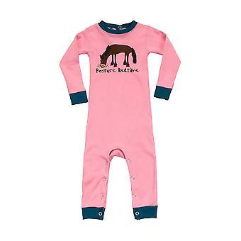 LazyOne Pasture Bedtime Baby Sleepsuit