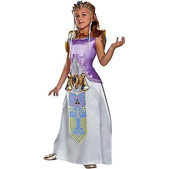 Zelda Deluxe Costume For Children