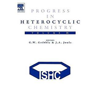 Vooruitgang in de heterocyclische chemie Volume 21 door Gribble & Gordon W.