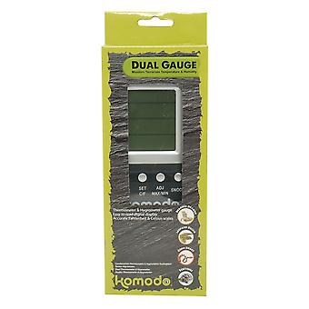 Happy Pet Products Komodo Duel Digital Thermometer & Hygrometer