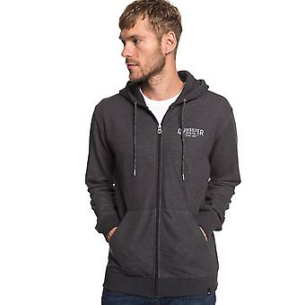 Quiksilver X Comp Elite Zipped Hoody dans Dark Grey Heather