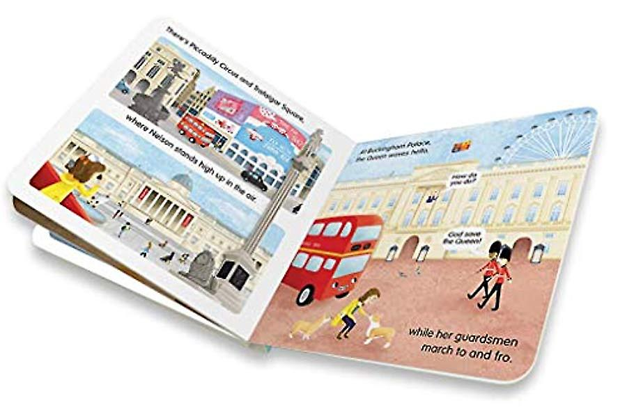 Indigo Jamm Bernie Bus Goes to London, Childrens Board Book